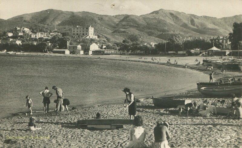 589 La plage 1953