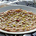 Carpaccio de marlin frais à la prune de cythère