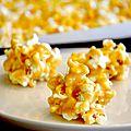 Popcorn à la guimauve façon rice krispies (trois fois par jour)