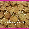 Minis muffins aux courgettes, jambon & fromage frais