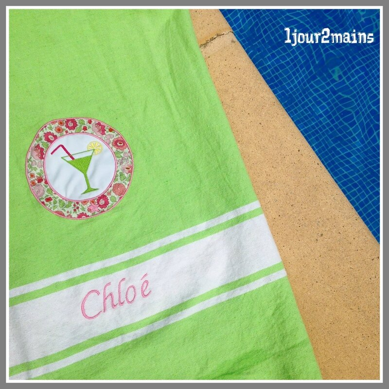 fouta Chloé