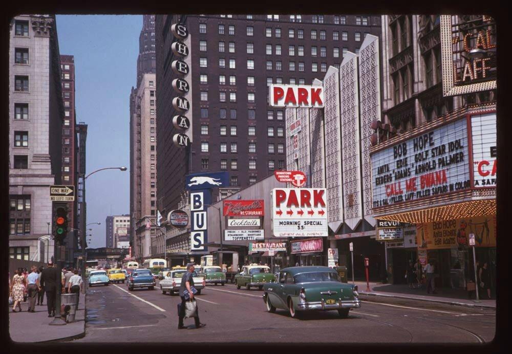 Randolph Street & Dearborn Street, Chicago