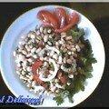 Salade italienne aux haricots blancs et au thon