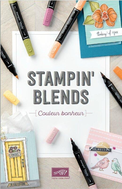 Stampin' blends Couleur bonheur 1