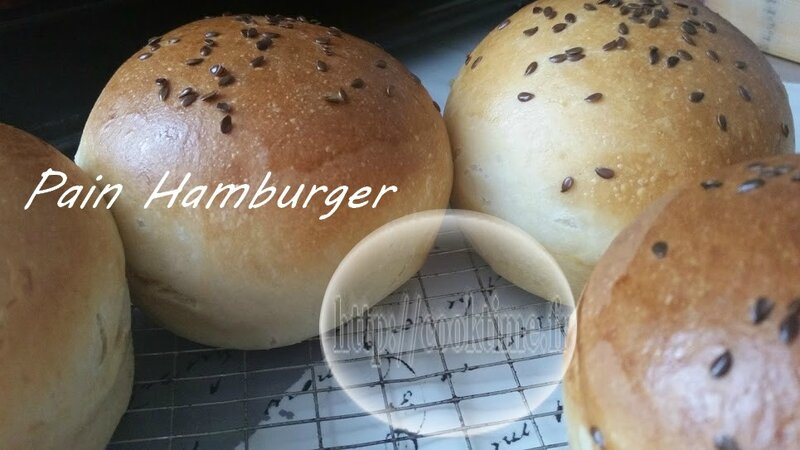Pain Hamburger Thermomix 4