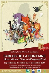 Avranches Scriptorial exposition Fontaine