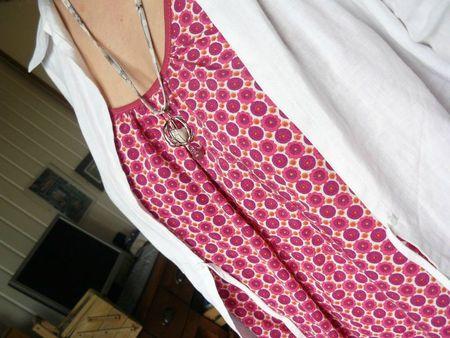 tunique japonaise à bretelle - collier piou