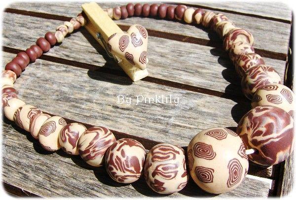 African (mon 1er collier) collector !