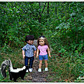 Les enfants et la mouffette - children and the skunk