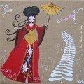 Geisha 20x20