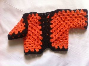 poupee shrug orange