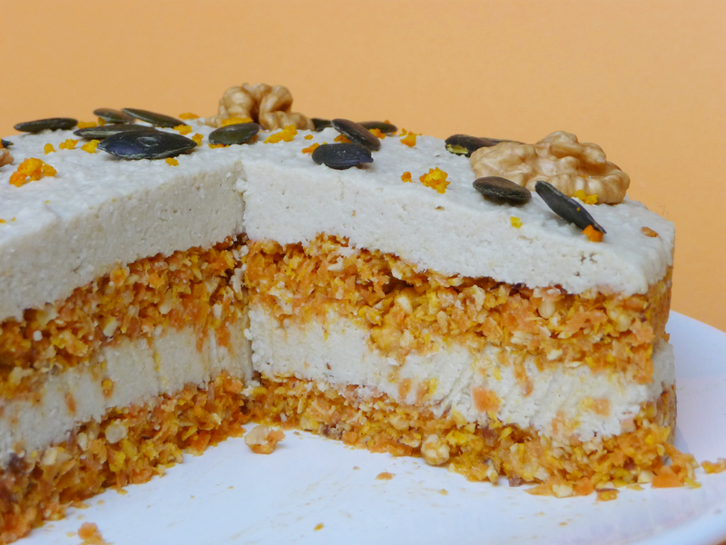 CARROT CAKE VEGAN coupe
