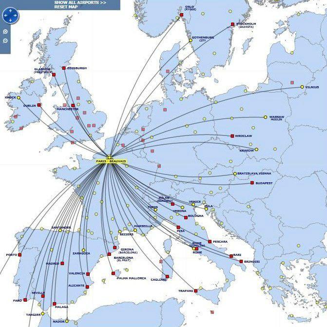 carte des vols ryanair Ryanair; l'avion autobus à 57 euros seulement   Mon Erasmus à