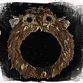 Un hibou inspiré d'une image conservée depuis quelques mois ...