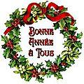 Bonne année à vous toutes et tous