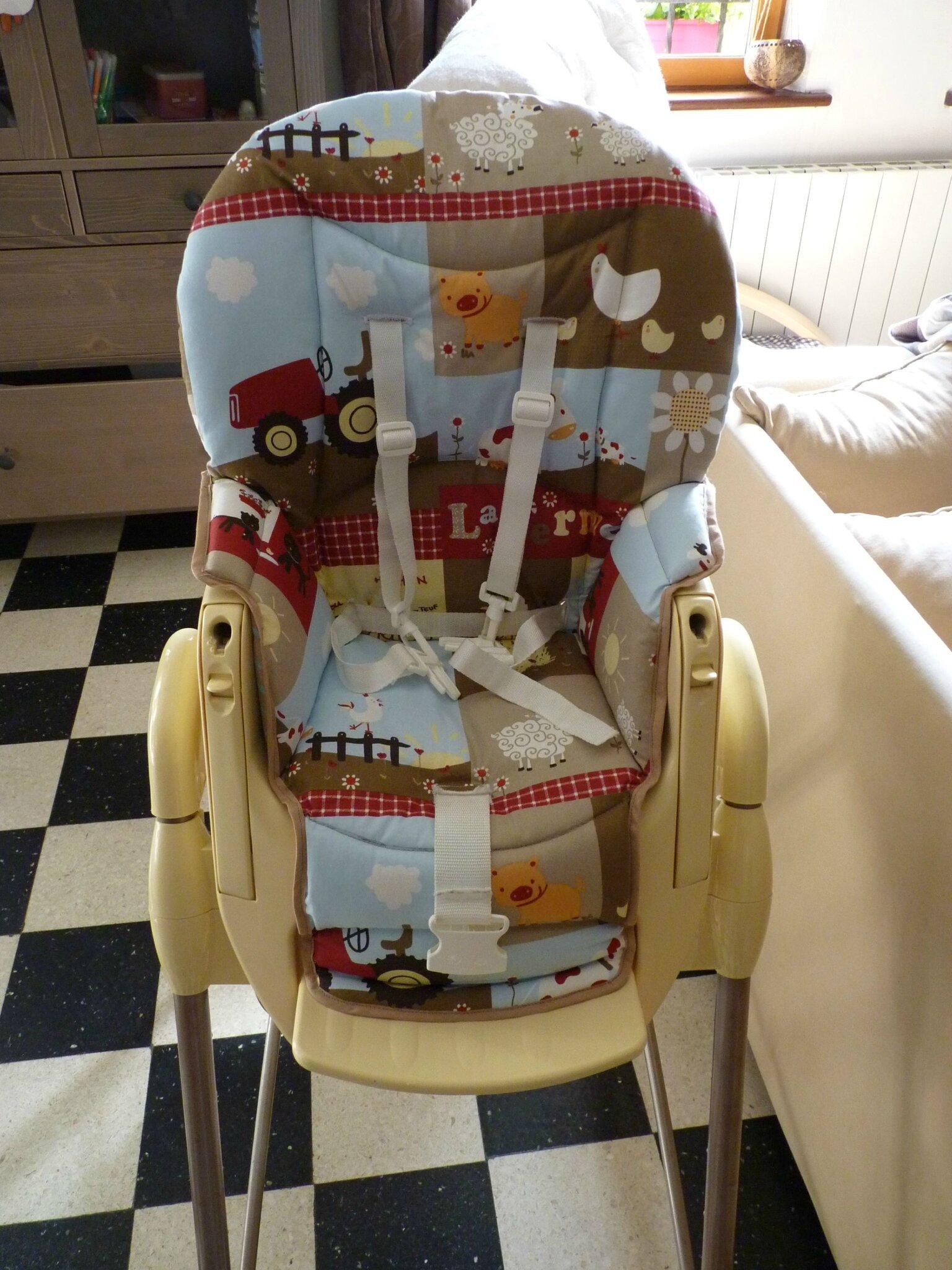 Housse Chaise Haute 2 Dition