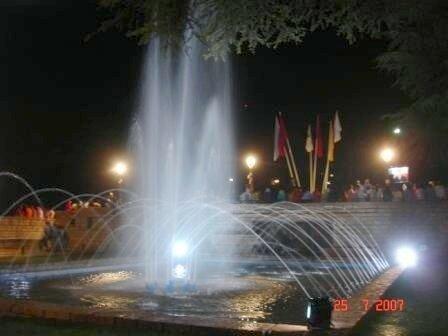 Ifrane by night