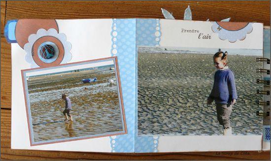 Mini album Cap Ferret détail 7