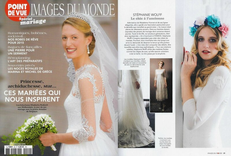 POINT DE VUE - IMAGES DU MONDE - SPECIAL MARIAGE - MARS, AVRIL & MAI 2015