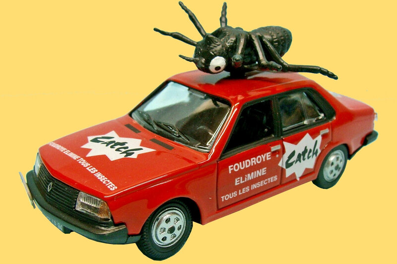 Miniature Tour de France 1979 R18 Renault Catch