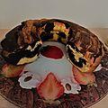 Recette du gâteau marbré : un gâteau ultra moelleux