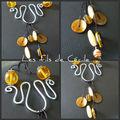 Picnik collage collier breloques ambrées
