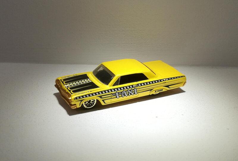 Chevrolet Impala de 1964 (Hotwheels)