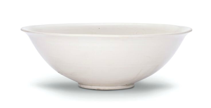 A superb incised 'Ding' 'lotus' bowl, Northern Song dynasty