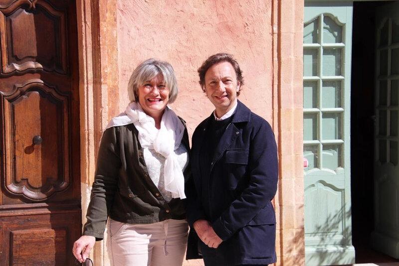 Gisèle Bonnelly Stéphane Bern