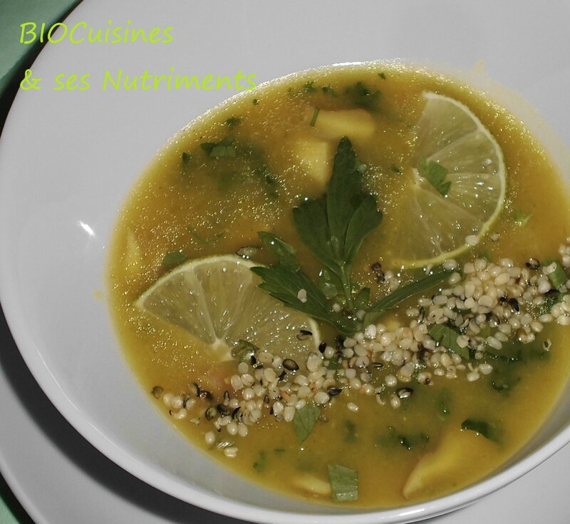 butternut citron vert