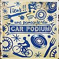 Pancarte Car Podium