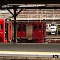 JR Kyûshû trains, Môjiko depôt.