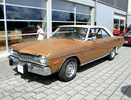 Dodge dart swinger 2 door coupé (Alsace Auto Retro Bartenheim 2011) 01