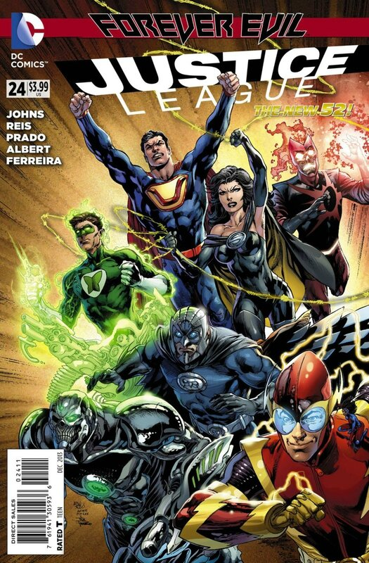new 52 justice league 24