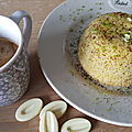 Un bowlcake citronné à base de polenta pour l'été
