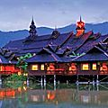 Hotel lac inle: guesthouses et hotel inle lake view
