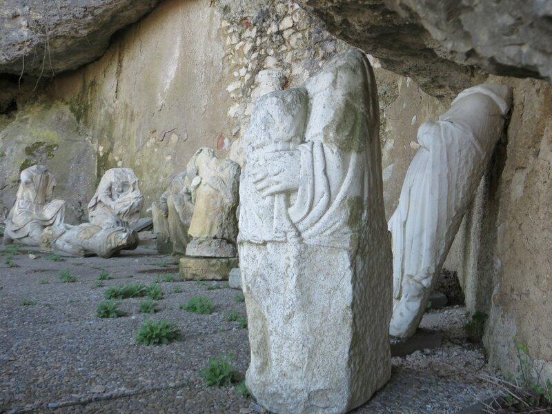 Statuaire Grotte de Sainte Baume