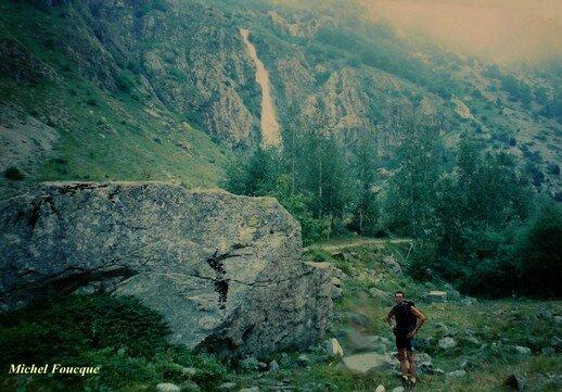 995) Rando Pédestre jusqu'au refuge Fond Turbat