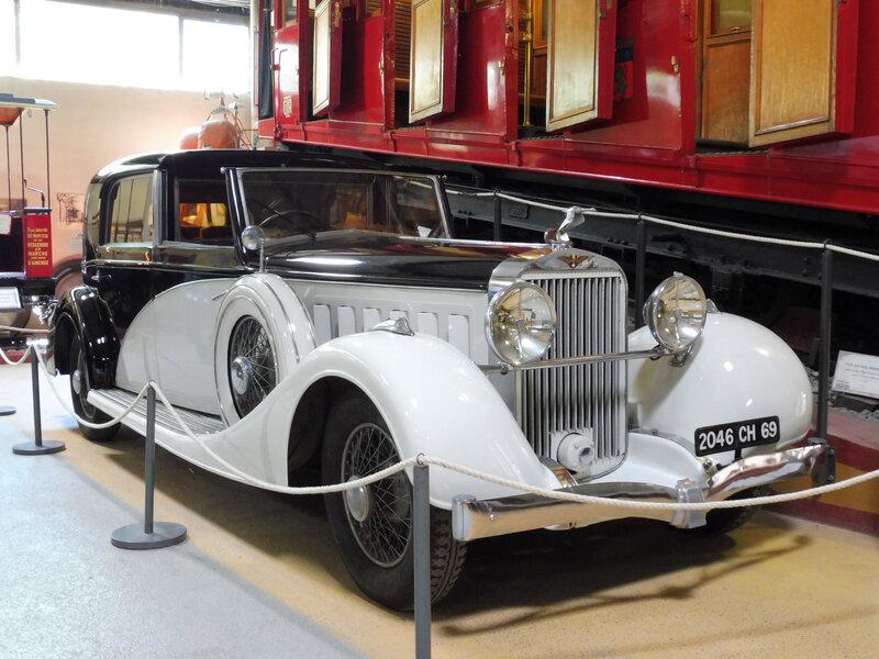 HISPANO SUIZA coupé chauffeur K6 par Franay 1936 Rochetaillée sur Saône (1)