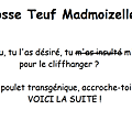 Grosse teuf madmoizelle #1