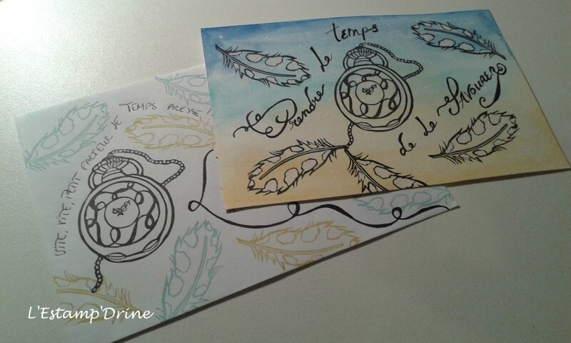 temps défi gravure tampon sur gomme (3)