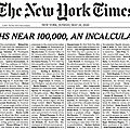 Nyt : an incalculable loss