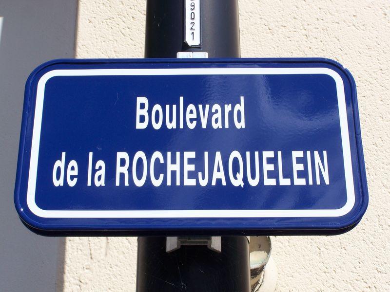 Saint-Laurent-sur-Sèvre (85), boulevard de La Rochejaquelein