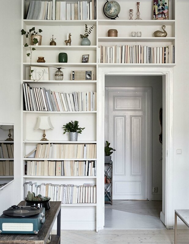 bookshelves-swedish-apartment