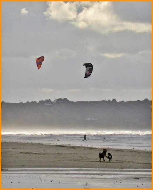 Kites à Saint PABU