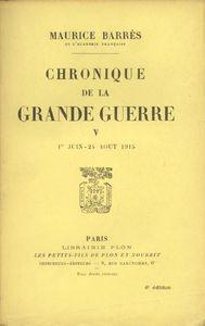 barres_maurice_chronique_de_la_guerre_tome_5