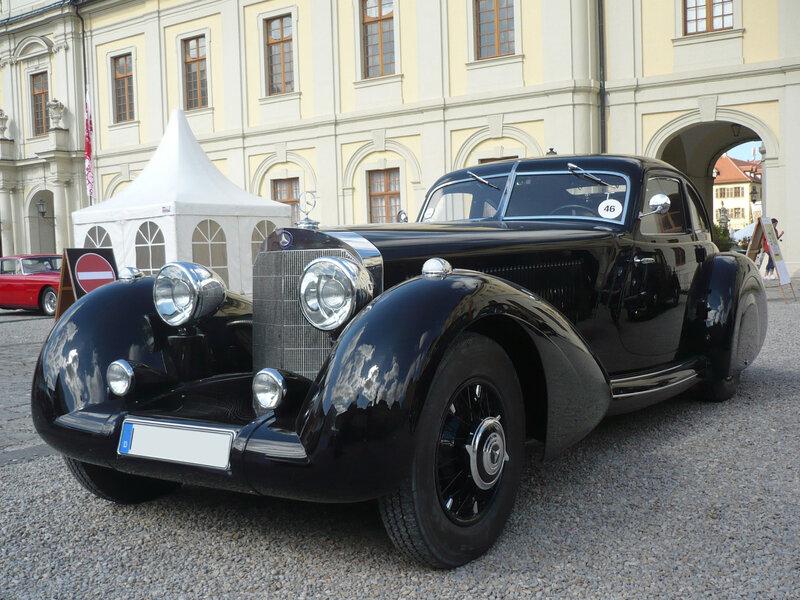 MERCEDES 540K W24 Autobahnkurier 1936 Ludwigsburg (1)