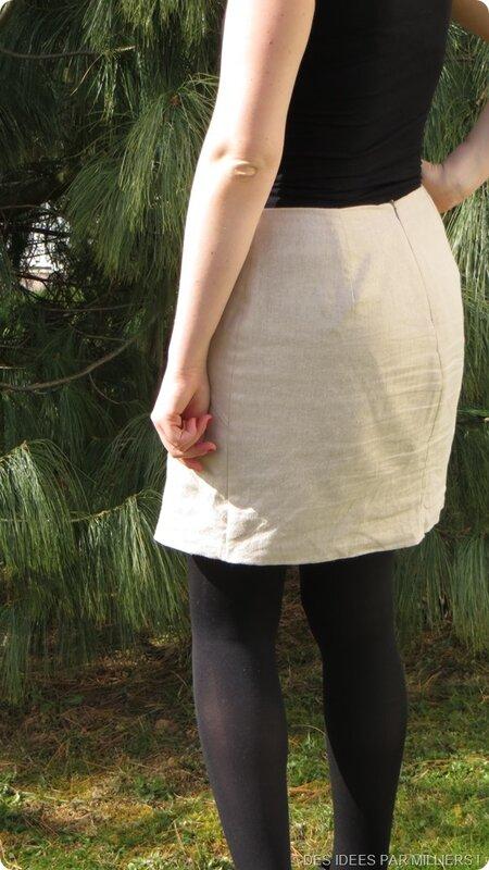 Des Idées Par Milliers - Couture - Jupe inspiration Chanel - Dos
