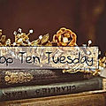 Top ten tuesday ~ 101 : les 10 romans à lire au coin du feu