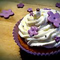 Foodista challenge #editionspeciale ! - cupcakes à la gelée de groseilles